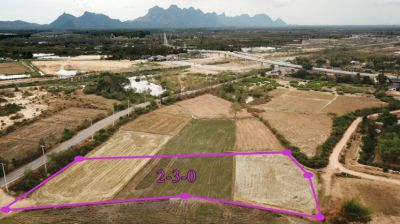 Land 2 rai 300 T.w. for sale in Pranburi