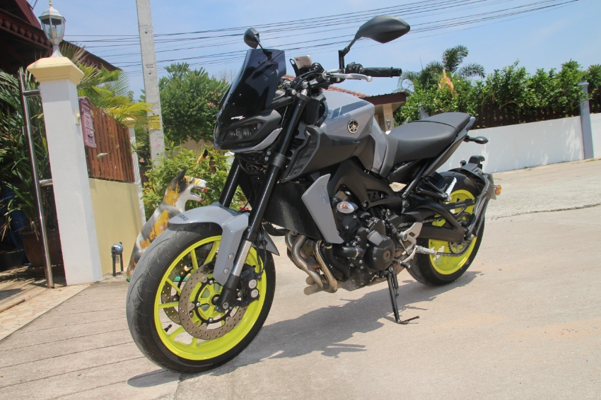 Yamaha MT-09 2017 1014 KM