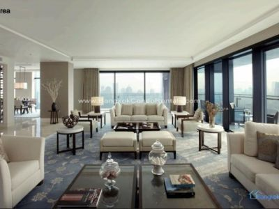 St. Regis Bangkok for rent 4 bedrooms 440 sqm BTS Ratchadamri