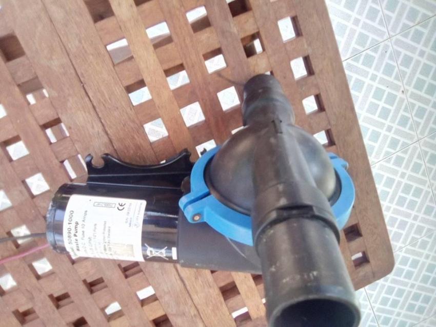 Jabsco waste pump model 50890-1000 12 volt