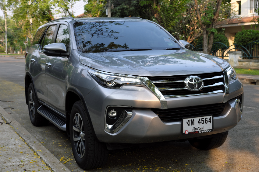 Toyota Fortuner, 2018, 2,8L, 2WD, 26000 km, showroom condition