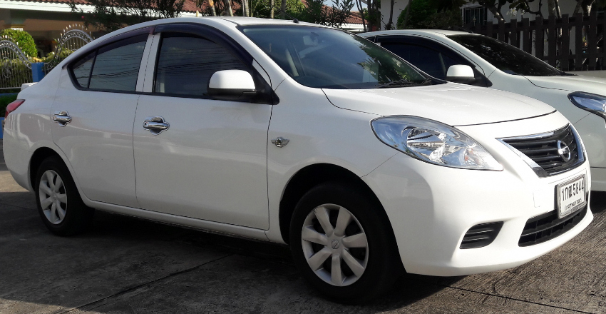 RENT a Nissan Almera only 12000 THB / Month
