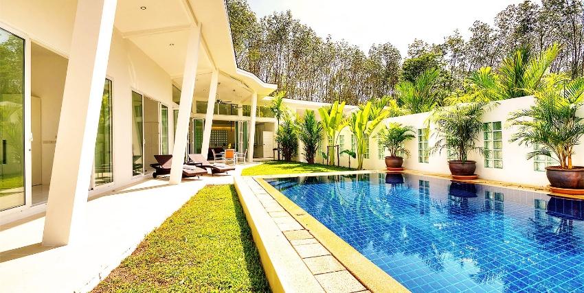 Modern Tropical 3 Beds Pool Villa Phuket
