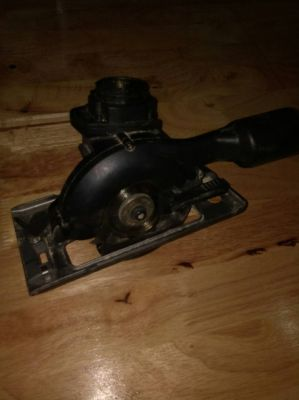 Black and Decker circular saw attachment for multi tool