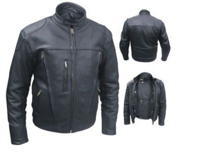 Ultimate Motorcycle Jacket FULLGRAIN NAKED BUFFALO LEATHER