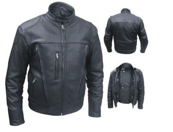 Ultimate Motorcycle Jacket FULLGRAIN NAKED BUFFALO LEATHER