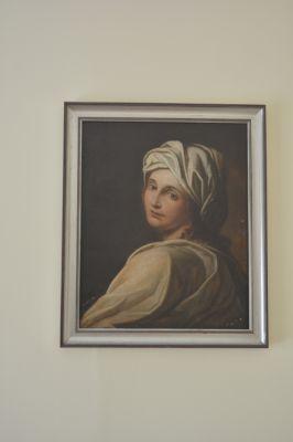 Oil painting      60 x 65 cm
