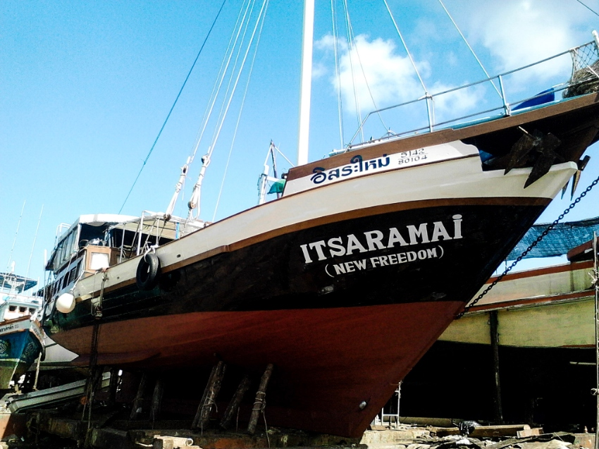 Beautifull Wooden Yacht for Tours