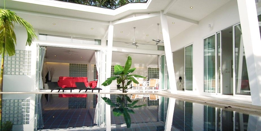 For Ret Modern Tropical 3 Beds Pool Villa Phuket