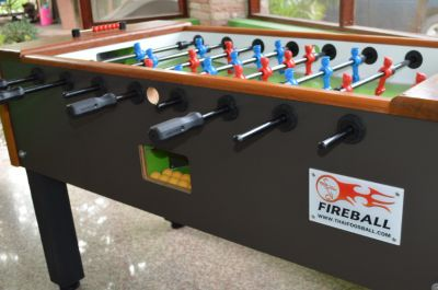 Fireball Foosball Tables. Waterproof. 28,000 Free Shipping!