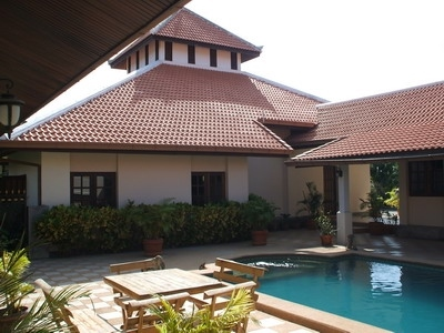 Balinese style villa, at Maprachan Lake. NEEDS RENOVATION