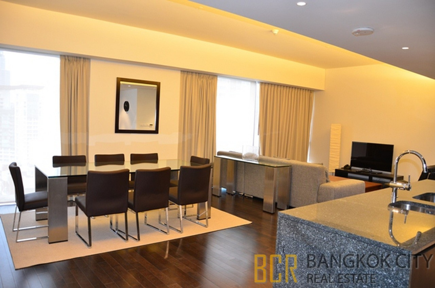 Hansar Residence Luxury Condo Newly Renovated 2 Bedroom Unit for Rent