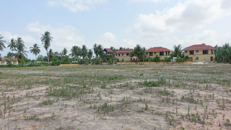 Top building plot of 6,5 Rai, above Mabprachan lake - top location