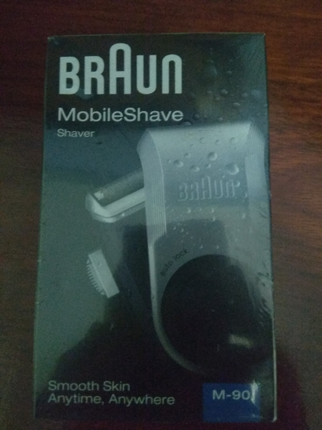 New Braun Electric Shaver M-90