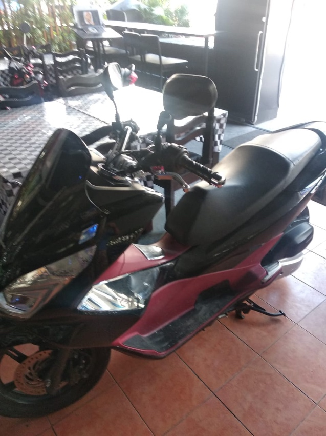 Red & Black PCX 150CC