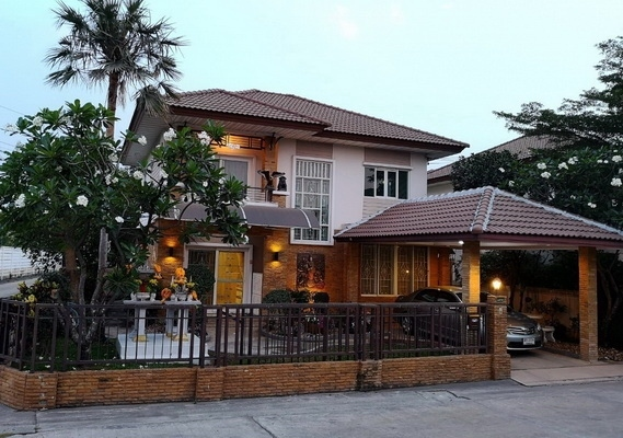 (เช่า) FOR RENT PRUKSA VILLAGE 15 THEPARAK / 3 beds 3 baths **22,000**