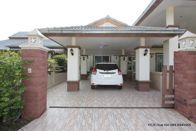 3 Bedroom house on a secure estate Emerald Resort soi 112