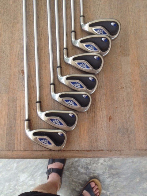 Callaway Hawk Eye VFT iron set 4-PW