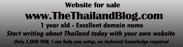 Thailand website for sale