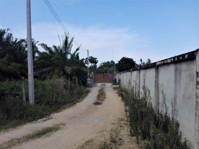 Two Connecting Half Rai Pranburi Riverfront Plots Sold Separately