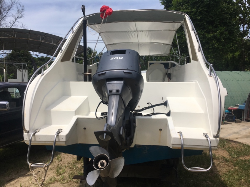 For quick sell SR 29 speed boat