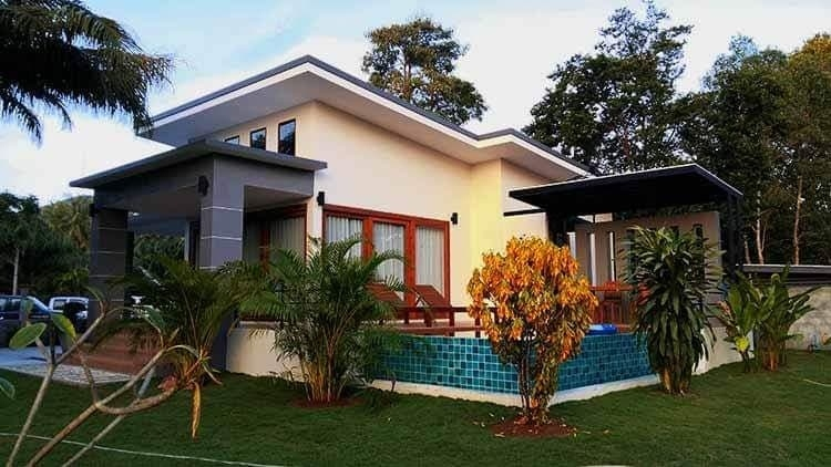 2 bedrooms villa with pool for sale in Kho Phangan