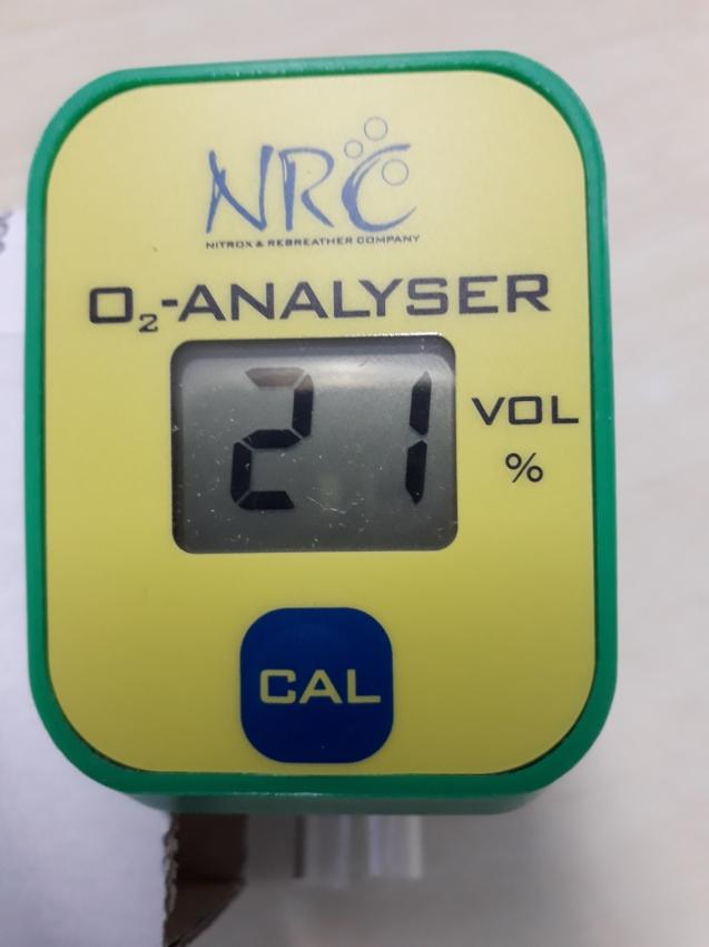 NRC Nitrox Analyser