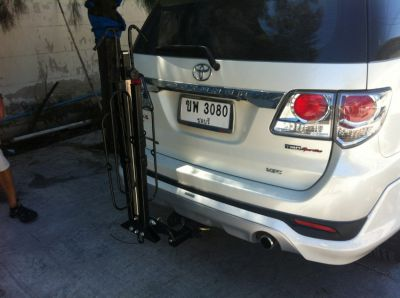 UpBeat hitch bicycle carrier (for 2 bicycles)