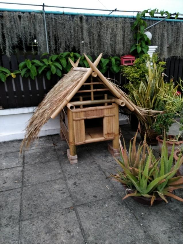 Dog House Handmade Strong Bamboo