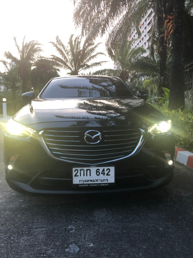 All new Mazda CX3 for rent, 17.000 THB monthly