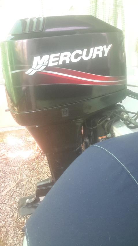 Mercury 90 hp,2 sk,100 hrs