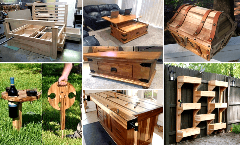 16.000 Wood Working Projects Instant Downloadable
