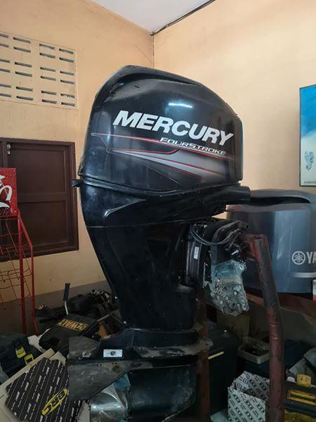 Mercury 60hp 4stroke Bigfoot as new