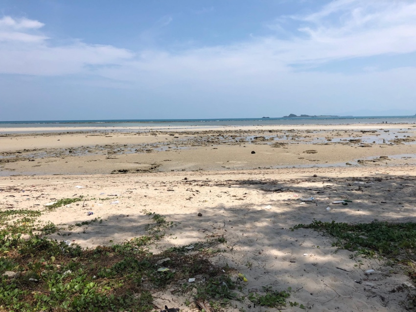 Beachfront land for sale in Ko Samui