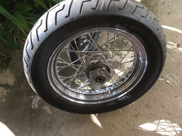Harley backwheel