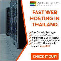 Website Hosting in Thailand