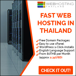 Website Hosting in Thailand