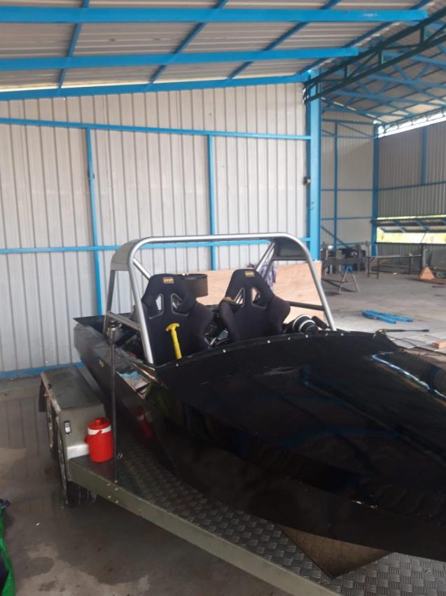 Adrenaline Rush - Jet Sprint Boat