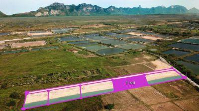 Plot of land 1 rai for sale in Pranburi