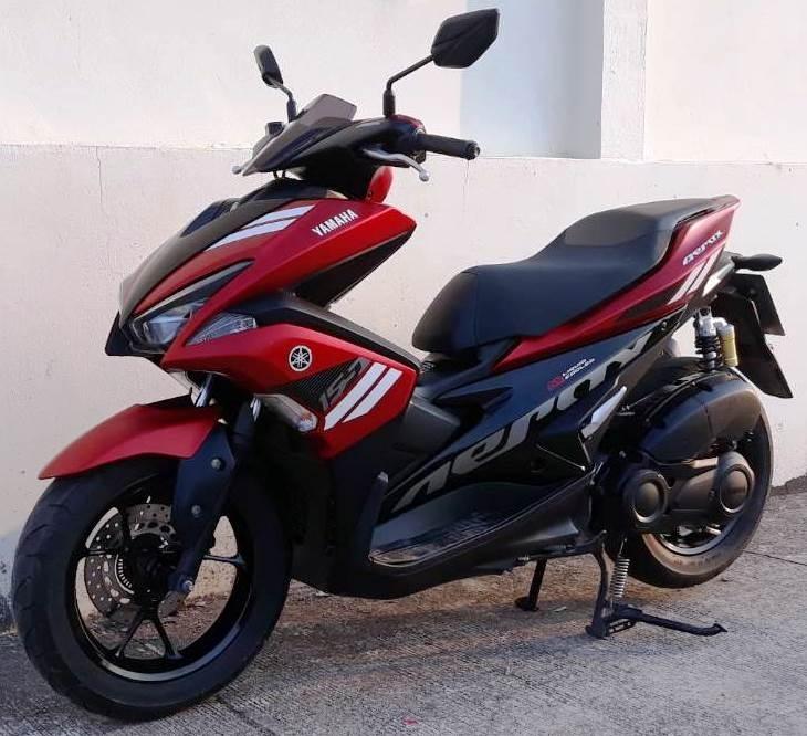 11/2017 Yamaha Aerox 155 - 52.900 ฿ - Finance by shop