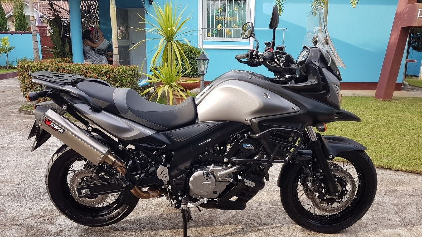2015 Suzuki V-Strom DL650XT, fully loaded with accessories