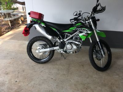 Small Adventure Motorcycle KLX 150BF ONLY 1 Year old - like brandnew