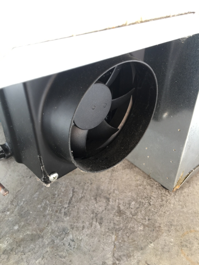 Marine freezer