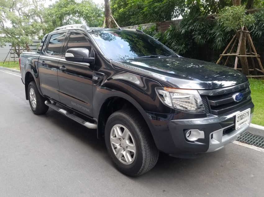 Ford Ranger Wildtrack Doublecab with very low mileage