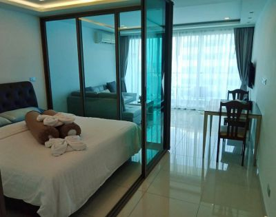 Wongamat Tower 1 bed, 48 sq.meter sea view apartment for rent