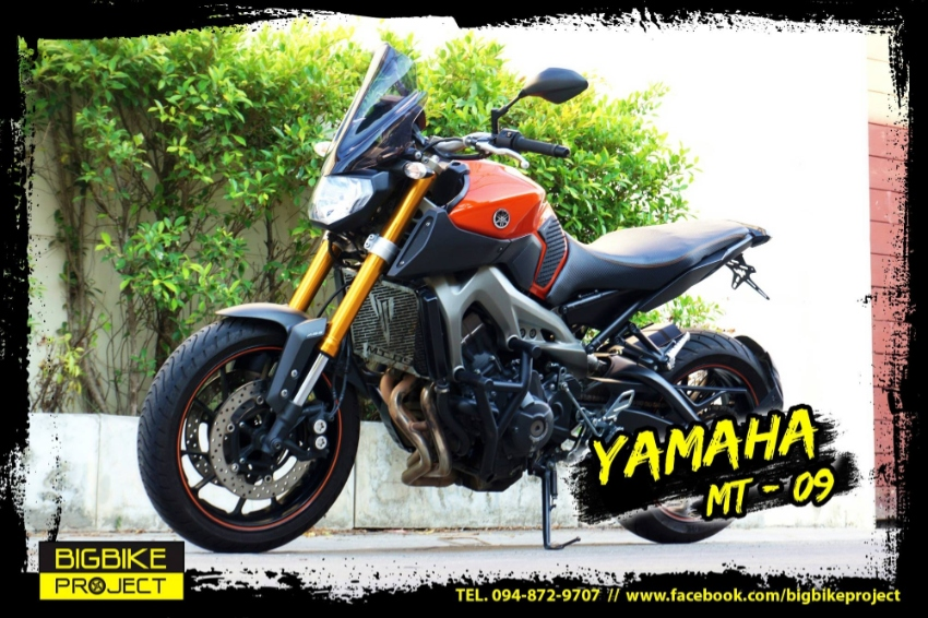Yamaha MT-09 fun ride with perfect condition