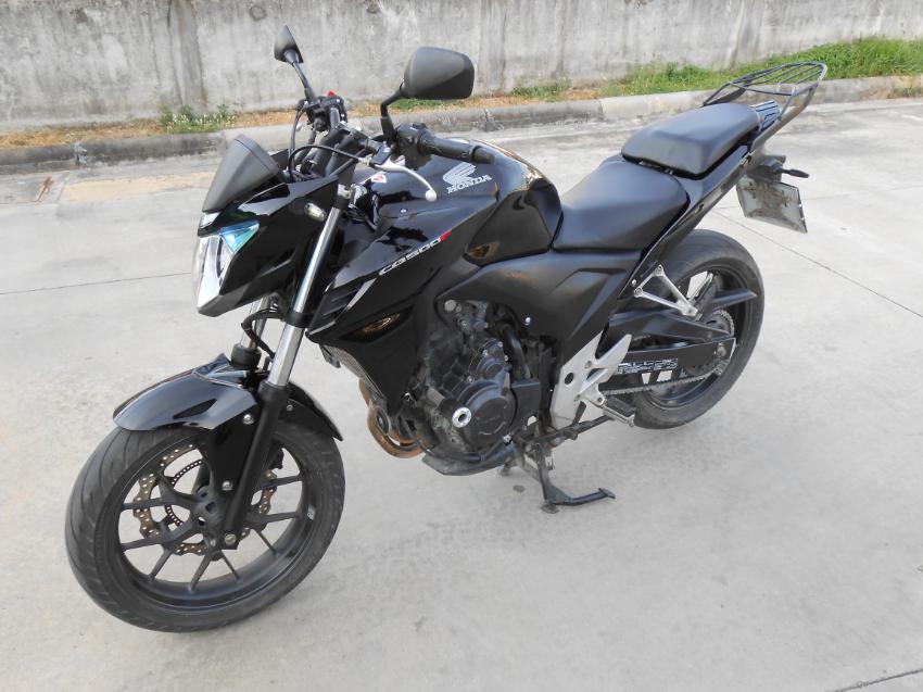 Honda CB500 F  Model 2013  41000km    93,000 THB