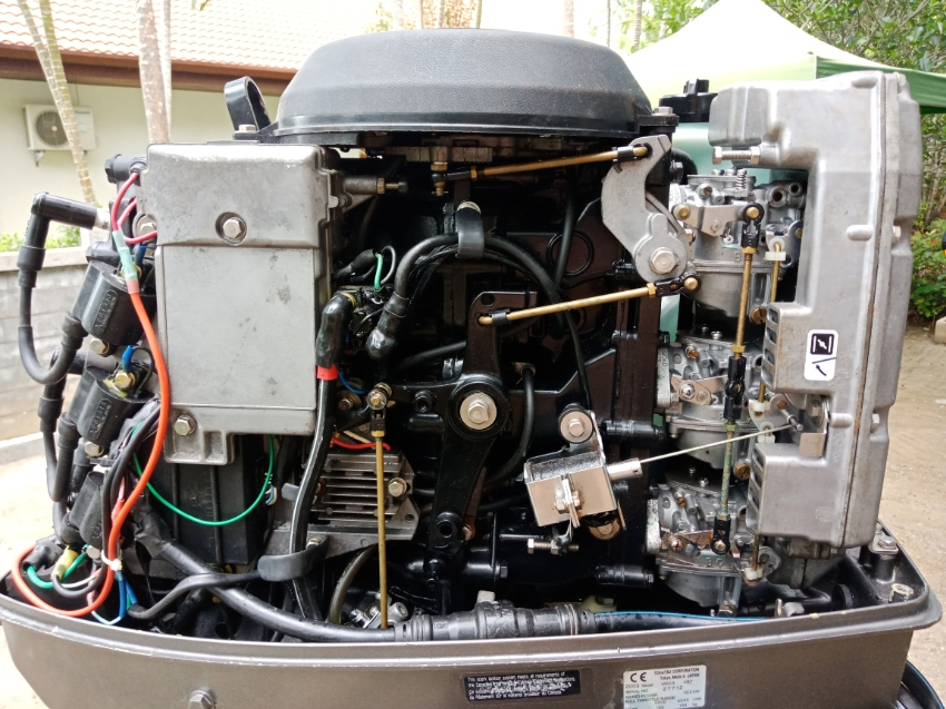 Tohatsu 90hp Outboard Motor