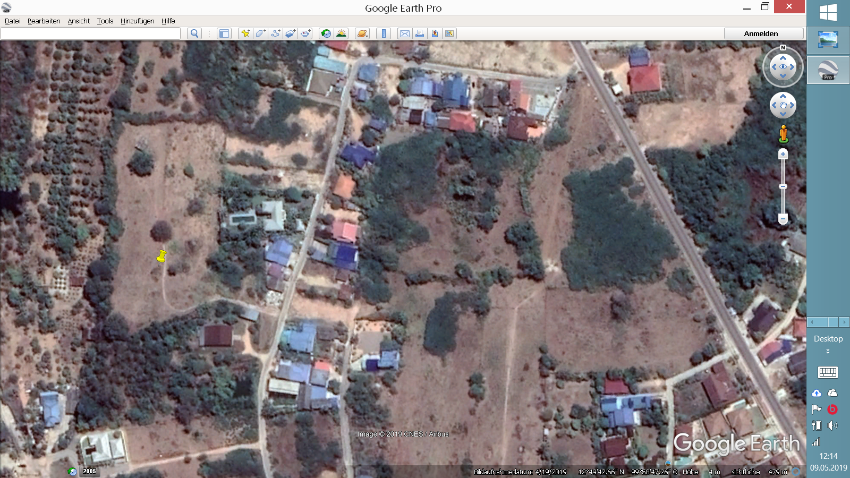 LAND PLOTS CHA AM NORTH FOR SALE, plot size approx. 200 TW