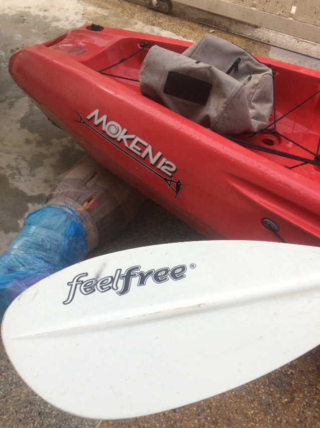 Kayak FeelFree 4 Metre Moken 12 , includes Paddle, Seat  ,